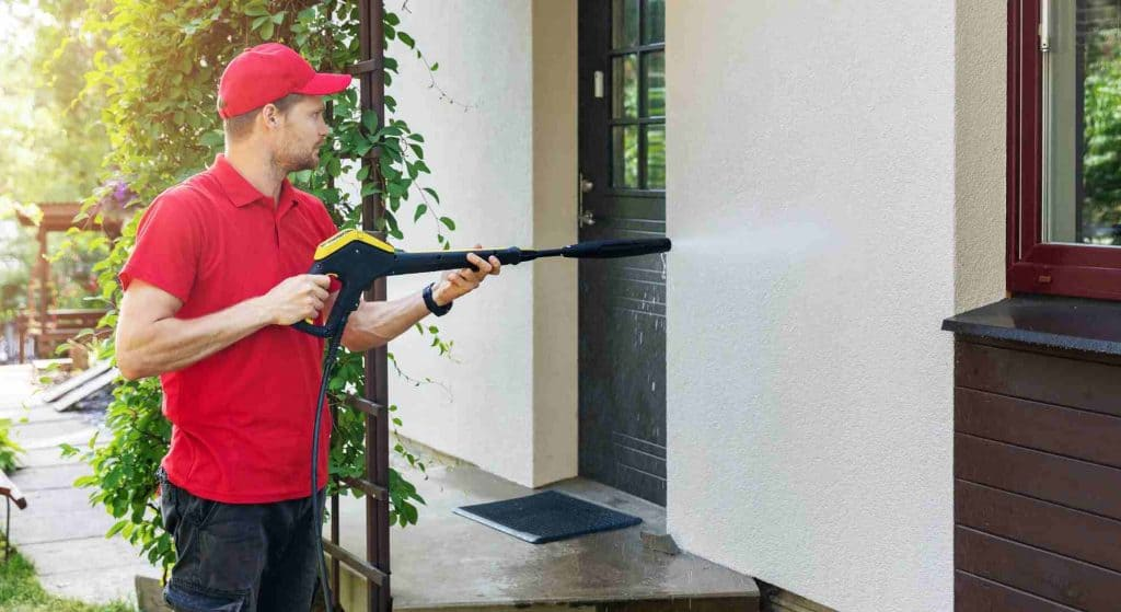 Ideas for curb appeal power wash your house