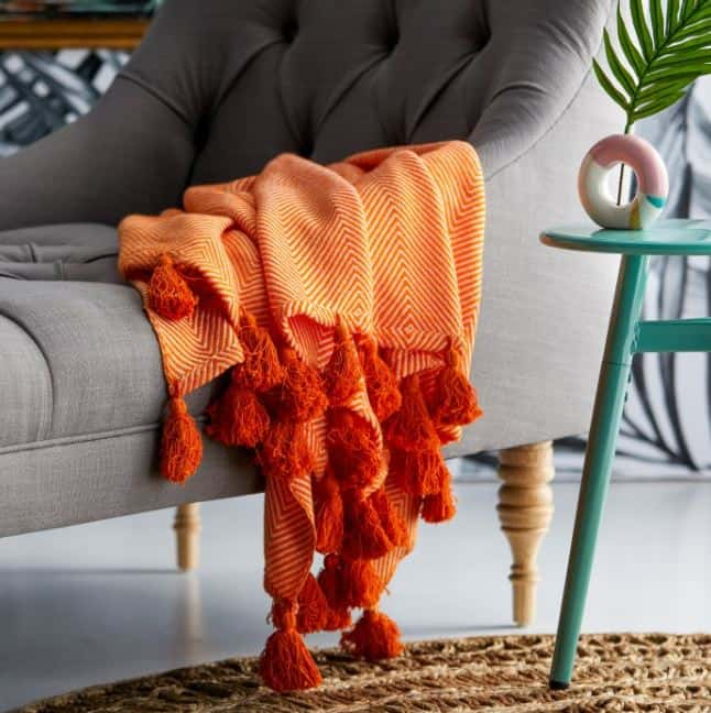 get cozy for fall with blankets