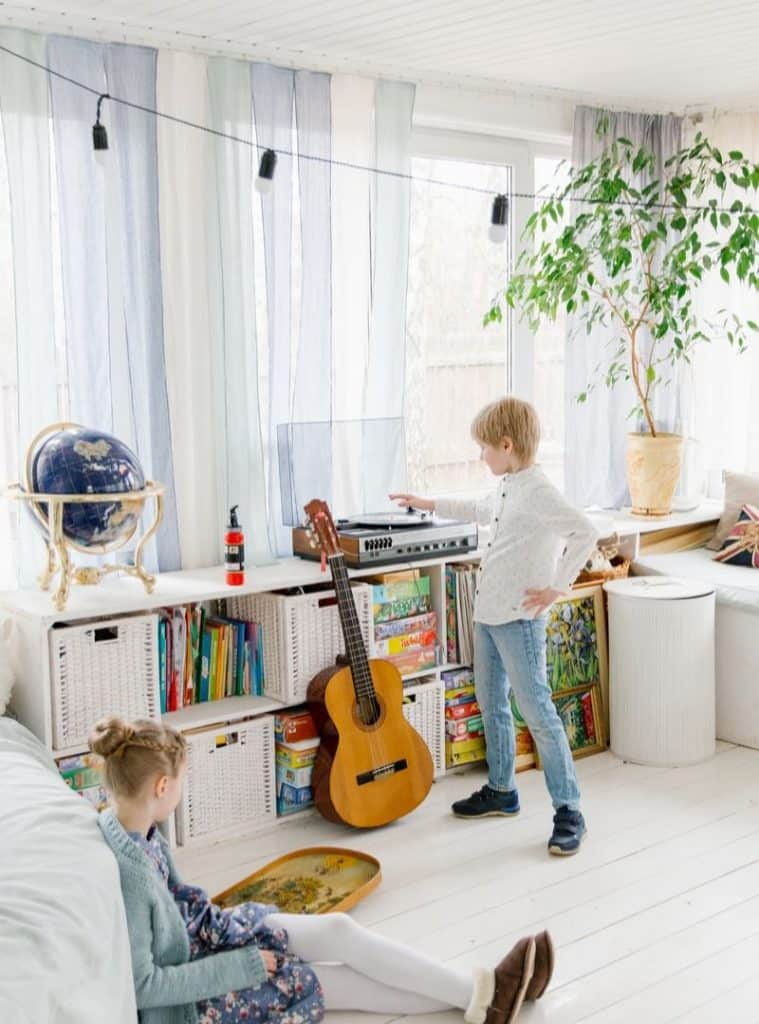 home styling and decorate for kids