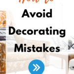 Avoid decorating mistakes