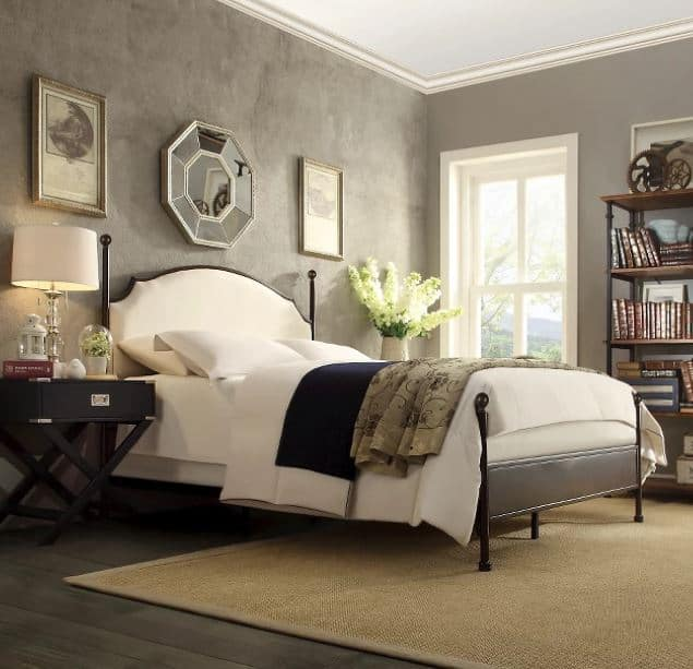 Upscale bed frame
