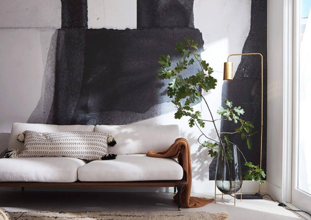 Mural walls for large living room walls