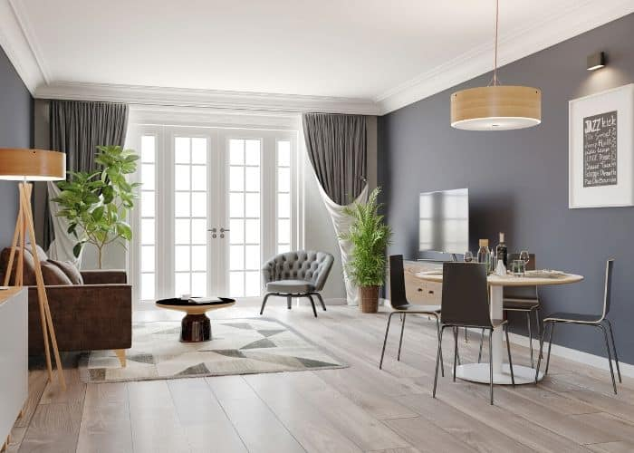 Make your home look expensive with crown molding