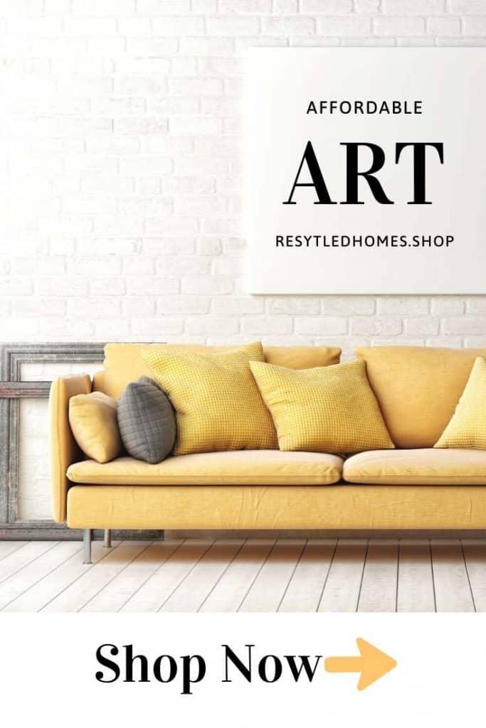 Shoestring decor art prints