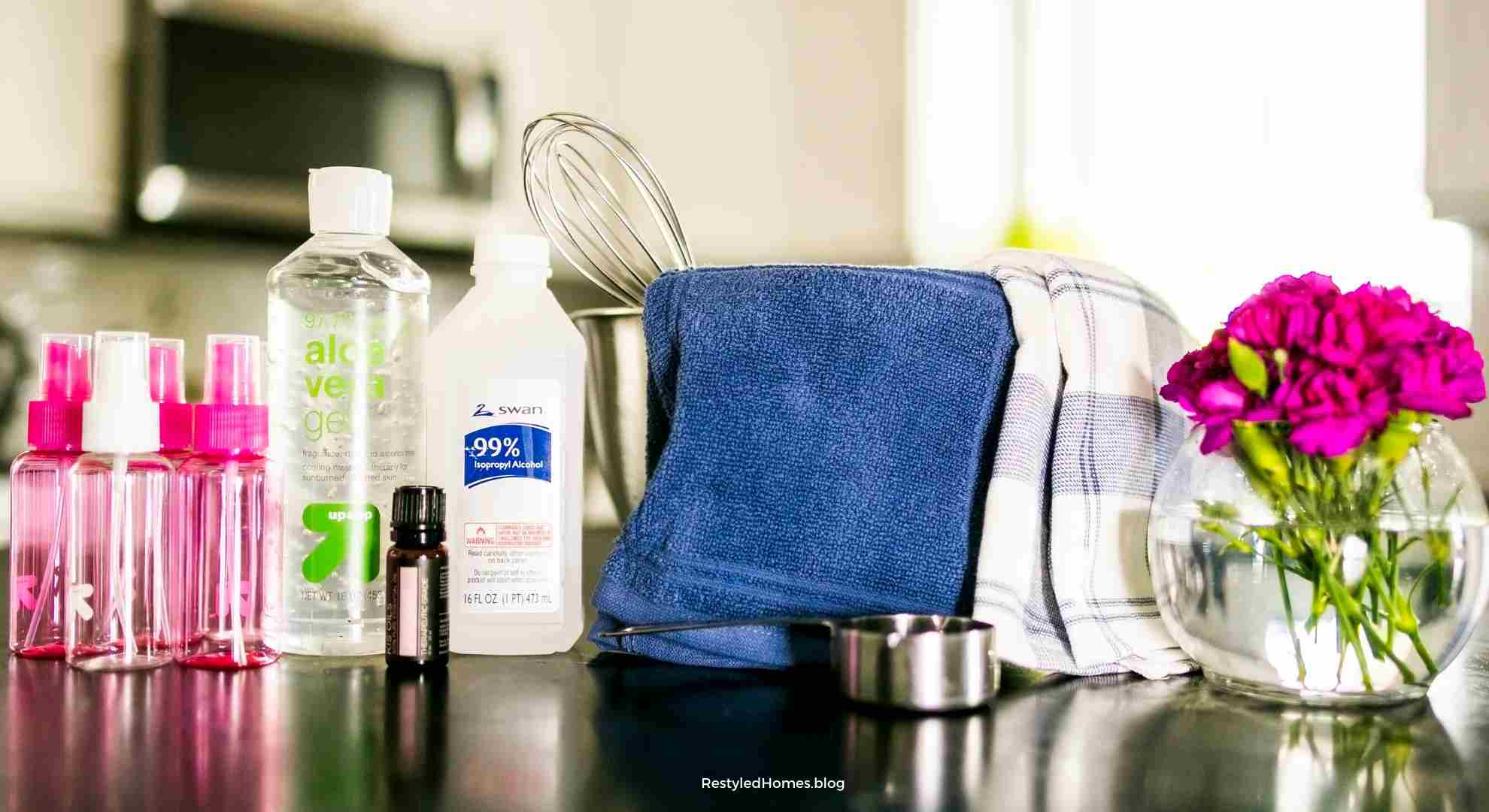 DIY Hand Sanitizer Spray Recipe | Easy Recipe