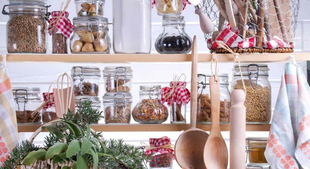 Non perishable food pantry and storage