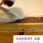 Before using cement or concrete for your DIY home projects it's necessary to educate yourself on the differences of each. You can make loads of projects with cement such as candle, flower pots, and more. Concrete can be used for counter tops due to its strength and heat retention. DIY cement projects, Concrete kitchen counter tops, home remodeling