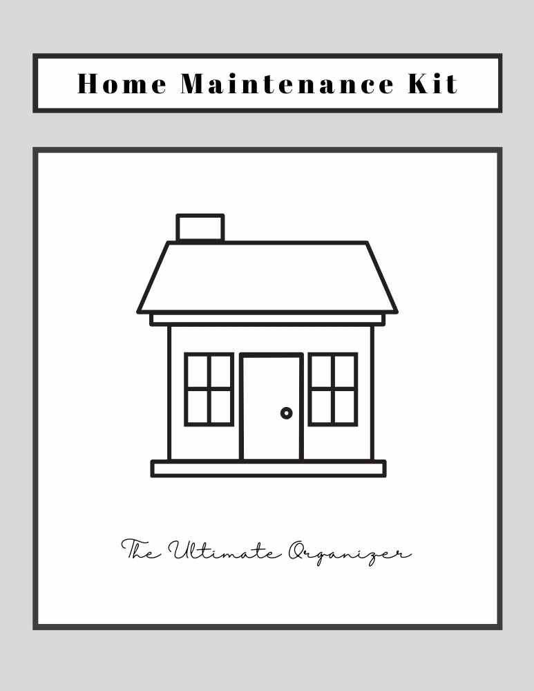 Household Maintenance Ebook