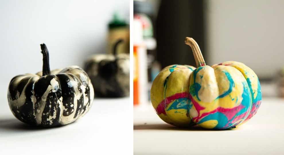 Marbling Pumpkins