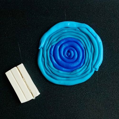 Ombre Polymer Clay Bowl