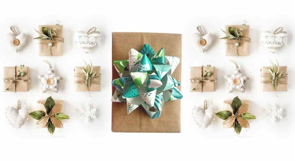 How To Make A Paper Bow Tie and Ribbons For Gifts | Template Included