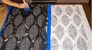 Learn Exactly How To Make A Custom Shower Curtain {Without Sewing}