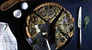 Quick Spinach Quiche Recipe {That's Delicious}