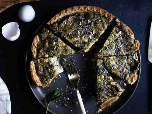 Quick Spinach Quiche Recipe That S Delicious Restyled Homes