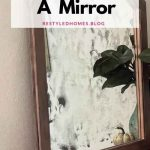 Upcycling a mirror